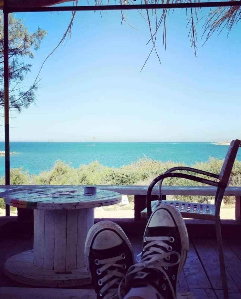 Sea view relaxed