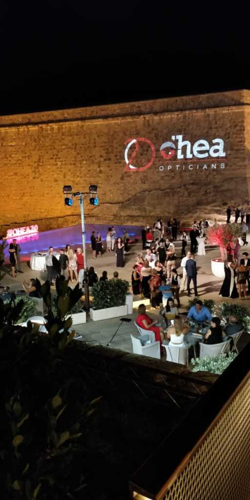 Guests at the O'Hea party